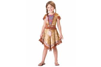 Indian Maiden Pocahontas Native American Book Week Dress Up Girls Costume