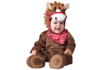 Playful Pony Horse Animal Deluxe Baby Boys Infant Costume