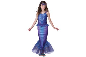 Mysterious Mermaid Princess Ariel Sea Goddess Fairytale Tween Girls Costume