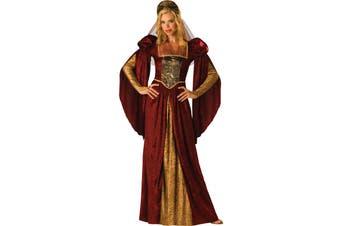 Renaissance Maiden Medieval Game of Thrones Queen Princess Womens Costume