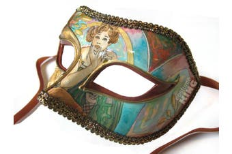 Venetian Masquerade Mask - Parisienne Tiffany
