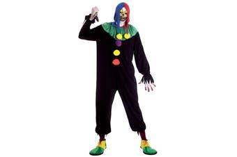 Joker Jack Clown Circus Horror Halloween Men Costume