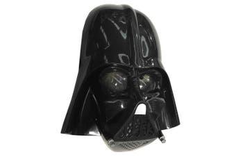 Darth Vader Star Wars Movie Black Child Boys Costume 1/2 Face Mask