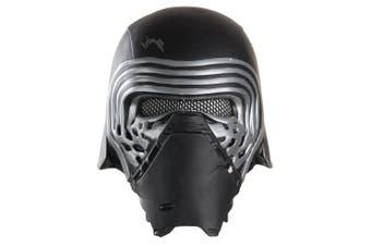 Kylo Ren Star Wars Movie Disney Force Warrior Licensed Mens Costume 1/2 Mask