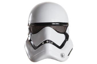 Stormtrooper Star Wars Movie Disney Licensed Mens Costume 1/2 Mask