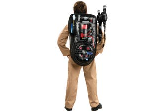Ghostbusters Ghostbuster Cartoon Kids Costume Inflatable Backpack Proton Wand