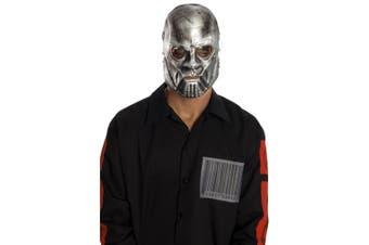 Slipknot Sid Heavy Metal Band Licensed Latex Halloween Men Costume 1/2 Mask