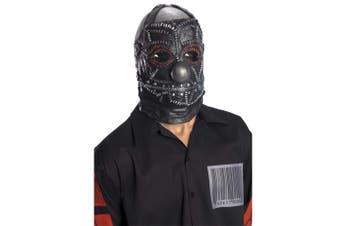 Slipknot Clown Black Heavy Metal Band Overhead Latex Halloween Costume Mask