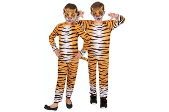 Tiger Cub Cat Jungle Wild Animal African Book Week Girls Boys Costume