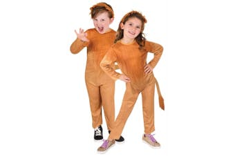Lion King Of Jungle Wild Animal African Book Week Unisex Girls Boys Costume