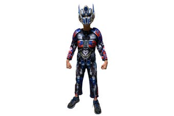 Optimus Prime Deluxe Transformers Superhero Book Week Child Boys Costume