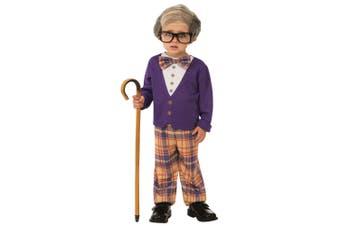 Little Old Man Grandpa Grandfather Geezer 100 Days Book Week Child Boys Costume