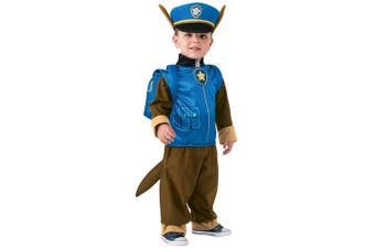 Chase Deluxe Paw Patrol Police Pup Nickelodeon Dress Up Boys Costume S