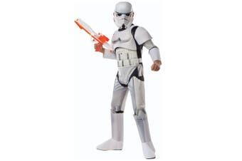 Stormtrooper Deluxe Star Wars Classic Disney Movie Book Week Child Boys Costume