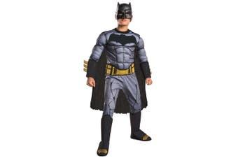 Batman Vs Superman Deluxe Muscle Chest DC Comic Superhero Boys Costume