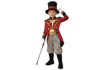Ringmaster Ringleader Circus Performer Showman Magician Book Week Boys Costume