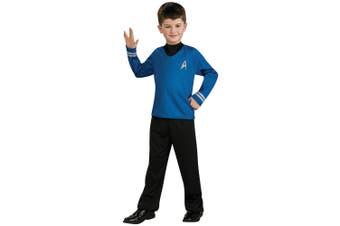 Spock Star Trek Movie Blue Shirt Pants Uniform Dress Up Boys Costume