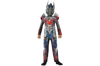 Optimus Prime Deluxe Transformers Age Of Extinction Superhero Child Boys Costume