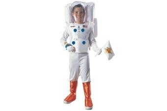 Astronaut NASA Spaceman Space White Suit Uniform Book Week Boys Costume