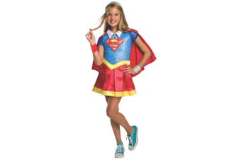 Supergirl Deluxe DC Comic Super Hero Superhero Movie Book Week Girls Costume