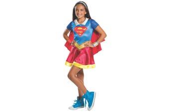 Supergirl Classic DC Comic Super Hero Superhero Movie Book Week Girls Costume