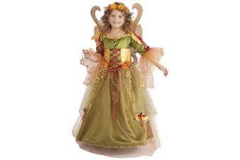 Forest Fairy Queen Pixie Fairytale Book Week Girls Costume