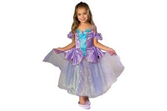 Victorian Ballerina Lilac Princess Girls Costume S