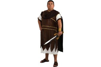 Greek Warrior Roman Gladiator Men Costume Plus