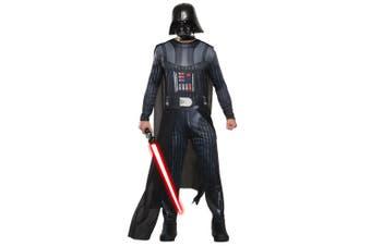 Darth Vader Sith Lord Photo Real Disney Star Wars Men Costume
