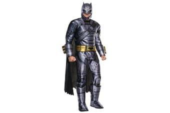Batman v Superman Deluxe Armored Dawn of Justice DC Superhero Mens Costume