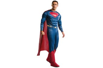 Superman Deluxe Muscle Chest Dawn of Justice League Superhero Adult Mens Costume