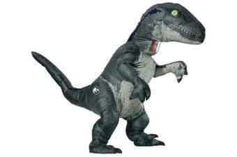 Blue Velociraptor Dinosaur Jurassic World Fallen Kingdom Adult Mens Costume OS
