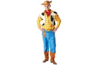 Woody Deluxe Sheriff Woody Pride Toy Story Disney Pixar Cowboy Mens Costume