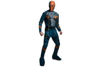 Deathstroke Muscle Deluxe Batman Arkham Origins DC Supervillain Men Costume