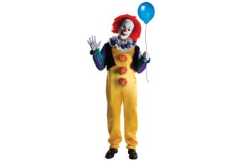 Pennywise IT The Movie Deluxe Horror Clown Halloween Men Costume