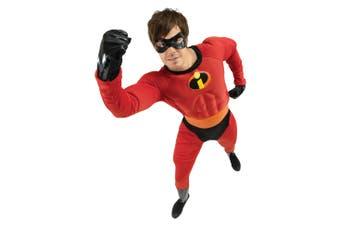 Mr Incredible The Incredibles Deluxe Muscle Disney Superhero Adult Mens Costume