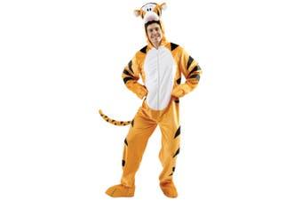 Tigger Disney Winnie The Pooh Cartoon Deluxe Mascot Dress Up Mens Costume