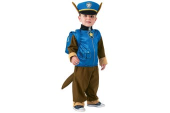 Chase Deluxe Paw Patrol Police Pup Nickelodeon Toddler Boys Costume T