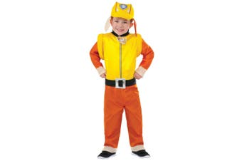 Rubble Deluxe Paw Patrol Rescue Dogs Bulldog Book Week Toddler Boys Costume T