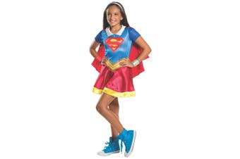 Supergirl DC Super Hero Superhero Movie Book Week Tween Girls Costume 9-12Y