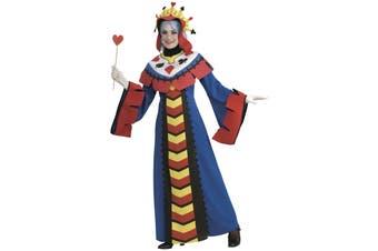 Playing Card Queen Of Hearts Poker Alice In Wonderland Women Costume
