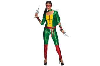 Raphael Raph Jumpsuit Teenage Mutant Ninja Turtles Superhero Women Costume
