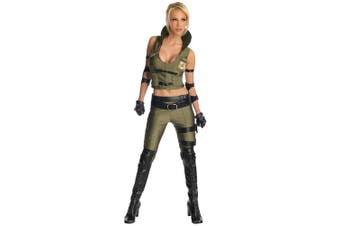 General Sonya Blade Soldier Mortal Kombat Fighting Video Game Women Costume