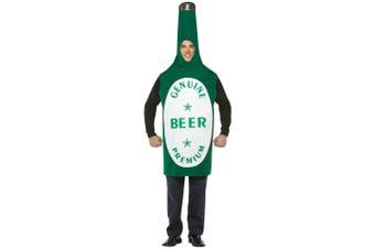 Beer Bottle Drink Oktoberfest German Bavarian Bucks Night Funny Men Costume