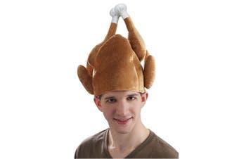 Roasted Turkey Deluxe Christmas Thanksgiving Dinner Mens Womens Costume Hat