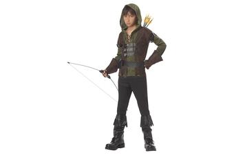 Robin Hood Medieval Sherwood Archer Hero Thieves Warrior Book Week Boys Costume