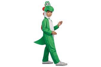 Yoshi Super Mario Green Heroes Dinosaur Video Game Deluxe Boys Costume