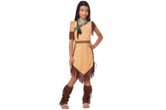 Native American Princess Indian Pocahontas Western Book Week Girls Costume