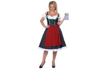 Oktoberfest Fraulein German Dirndl Bavarian Beer Maid Germany Womens Costume