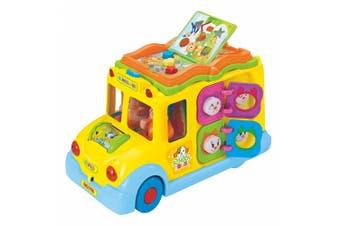 Hola Keep Me Busy School Bus